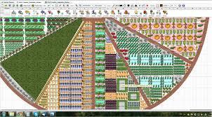 permaculture garden layout creative community garden wageningen transition town vallei