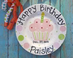 celebration plates cupcake plate etsy