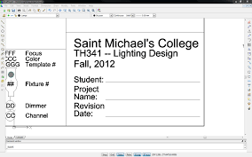 architectural drawing sheet numbering standard stage lighting for students