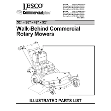 2001 lesco commercial walk behind parts manual 32