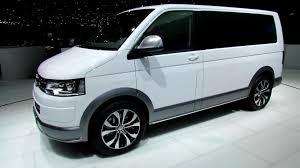 volkswagen concept van interior 2014 volkswagen multivan alltrack exterior and interior
