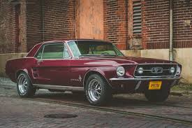 black cherry mustang cherry 67 mustang coupe