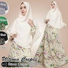 Grosir Gamis Zoya Murah grosir baju gamis fashion dan busana muslim murah di malang