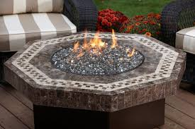 gas pit glass coffee table outdoor tabletop fireplace outdoor gas pit