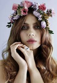 floral headdress flower crown ideas