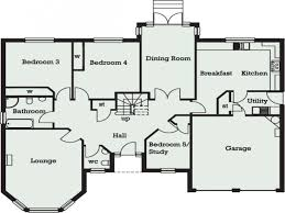baby nursery 5 bed bungalow house plans floor plans at nigeria