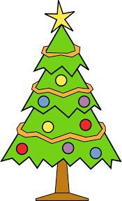 xmas tree clip art 120682