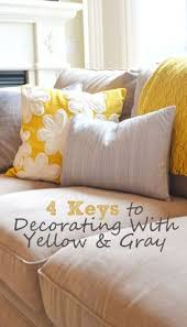 yellow and gray bed maybe i like these colors i u0027m feeling the