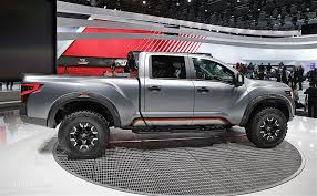 gray nissan truck nissan titan warrior concept debuts in detroit with loads of