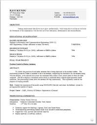 resume format for ece engineering freshers pdf creator electronic engineer resume format