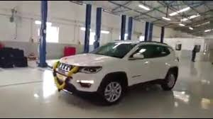 jeep india compass jeep compass first customers taking delivery in india youtube