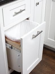 awesome kitchen cabinet trash drawer cabinet design