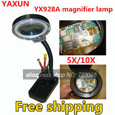 light magnifying glass crafts aliexpress com buy yaxun 928a magnifier l magnifying crafts