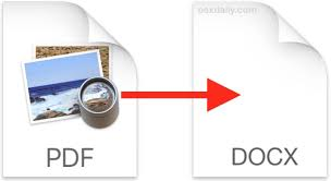 Convert Pdf To Word 4 Ways To Convert Pdf To Word Docx In Mac Os