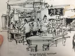 this blog is about urban sketchers sketches sketching materials