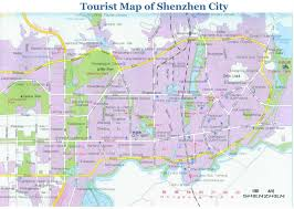 Shenzhen Metro Map by Shenzhen Maps Detailed China Shenzhen Attraction