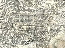 Edinburgh Map Map Of Edinburgh 1925 Enlarged