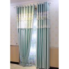 Blue Burlap Curtains Blue Lace Custom Floor To Ceiling Burlap Princess Curtains