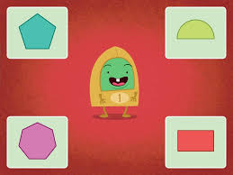 identifying shapes game game education com