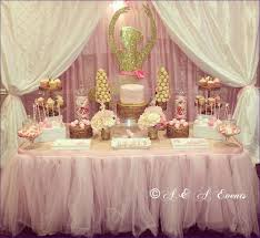 Baby Shower Table - bathroom awesome diy baby shower decorations princess themed