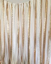 wedding backdrop fabric gold sequin garland fabric backdrop wedding garland photo