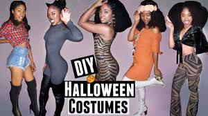 5 easy last minute diy halloween costumes natural hair fashion