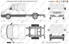 volkswagen crafter 2017 the blueprints com vector drawing volkswagen crafter 35 mwb