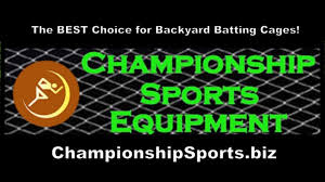 championship sports batting cages promo youtube