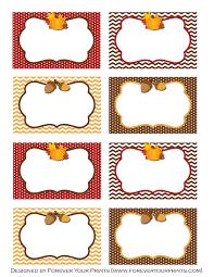free thanksgiving table printables craftbnb