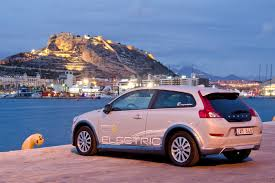 volvo race car volvo c30 electric volvo ocean race 2011 2012 alicante spain