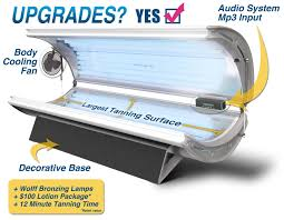 Tanning Bulbs For Sale Amazon Com Sunfire 32 Deluxe Tanning Bed Beauty