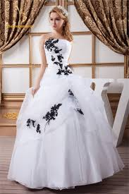 black and white quinceanera dresses buy black and white quinceanera dresses and get free shipping on