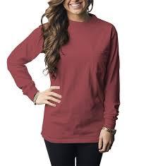 Long Sleeve Comfort Colors University Tees