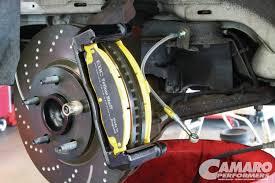 camaro z28 brakes 1998 chevy camaro z28 rotor retrofit camaro performers magazine