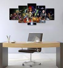 Home Decor Posters Reproduction Star Wars Framed Home Décor Posters U0026 Prints Ebay