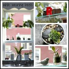 Green House Kitchen by While Wearing Heels Diy Greenhouse Window
