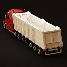 volvo model trucks 3d model volvo vnl670 trailer truck cgtrader