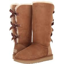 womens ugg bailey boots chestnut ugg bailey bow ii chestnut s boots 250 liked on