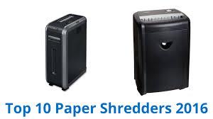 Best Home Shredder by 10 Best Paper Shredders 2016 Youtube