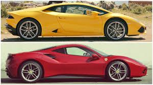 Lamborghini Huracan Ugly - huracán vs 488 which would you choose