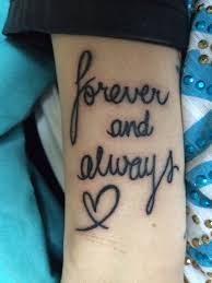 forever and always tattoo tattoos u0026 piercings pinterest