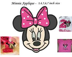 minnie mouse face etsy