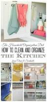 How To Organize The Kitchen - how to organize kitchen cabinets clean and scentsible