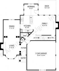 Narrow House Plans With Garage Remington Narrow Floor Plans Traditional Floor Plans
