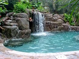 Natural Backyard Pools by The Waterfall Swimming Pools Backyard And Tubs