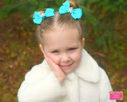 infant hair bows 50 best pigtail hair bows images on pigtails hair