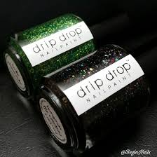 let u0027s begin nails drip drop nail paint st patrick u0027s day duo