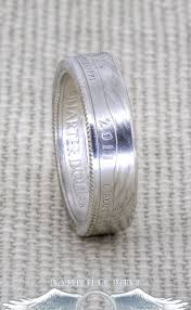 dakota wedding band 43 best silver half dollar coin rings images on coin