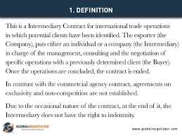intermediary contract for international trade contract template and u2026