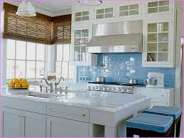 contemporary blue green glass tile kitchen backsplash plan best